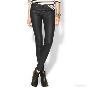 AG The Absolute Legging Extreme Skinny Coated Jean